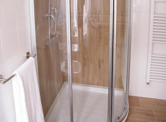 bagno privato con doccia grande