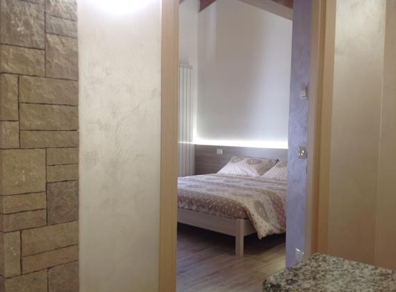 camera matrimoniale affittacamere vicino a Bergamo
