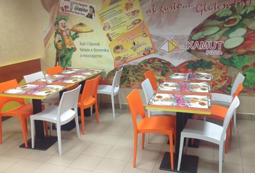 pizzeria e gastronomia sotto B&B vicino a Bergamo