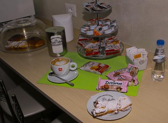 buffet colazione abbondante La Voglia Matta